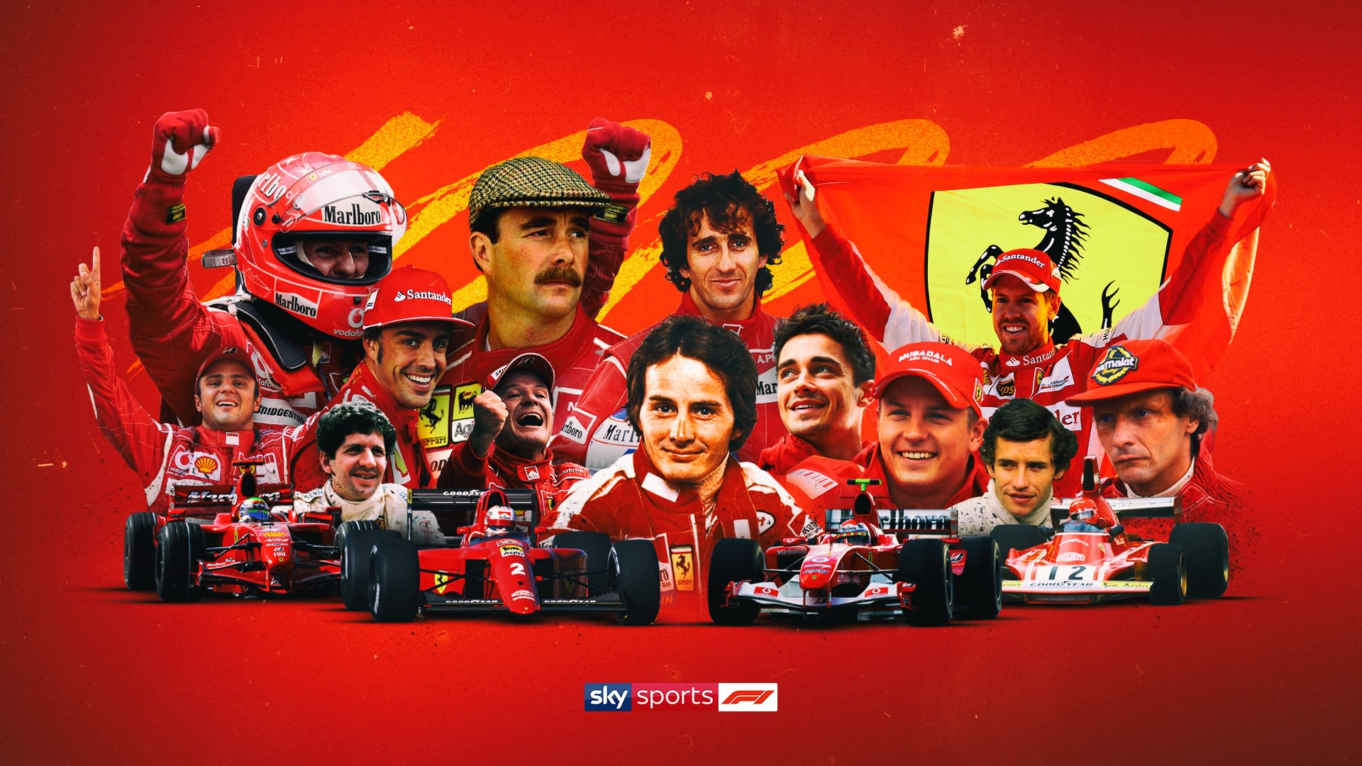 Ferrari 1st To 1000 Mystique Of F1 S Giant Explained Before Tuscan Gp Formula 1 News Sky Sports